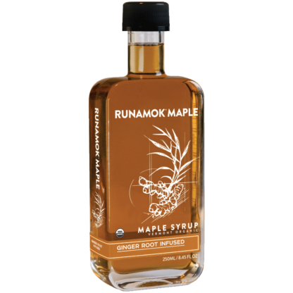 Ginger Root Infused Maple Syrup by Runamok Maple