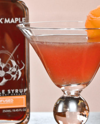 Maple cocktail by Runamok Maple