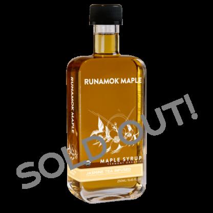 Jasmine Tea Infused Maple Syrup by Runamok