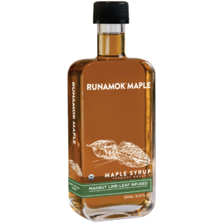 Makrut Lime-Leaf Infused Maple Syrup by Runamok Maple