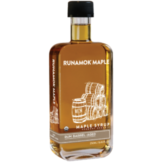 Rum Barrel-Aged Maple Syrup by Runamok Maple
