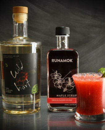 Hibiscus Maple Cocktail by Runamok Maple