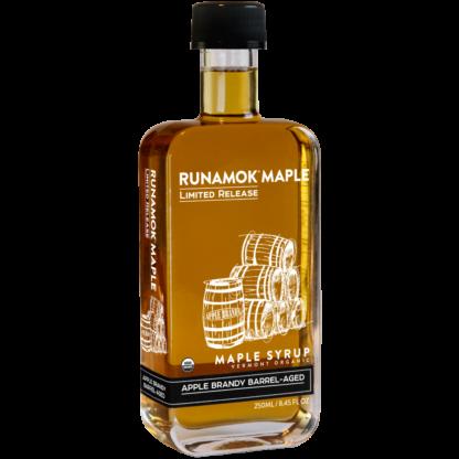 Apple Brandy Barrel-Aged Maple Syrup by Runamok Maple