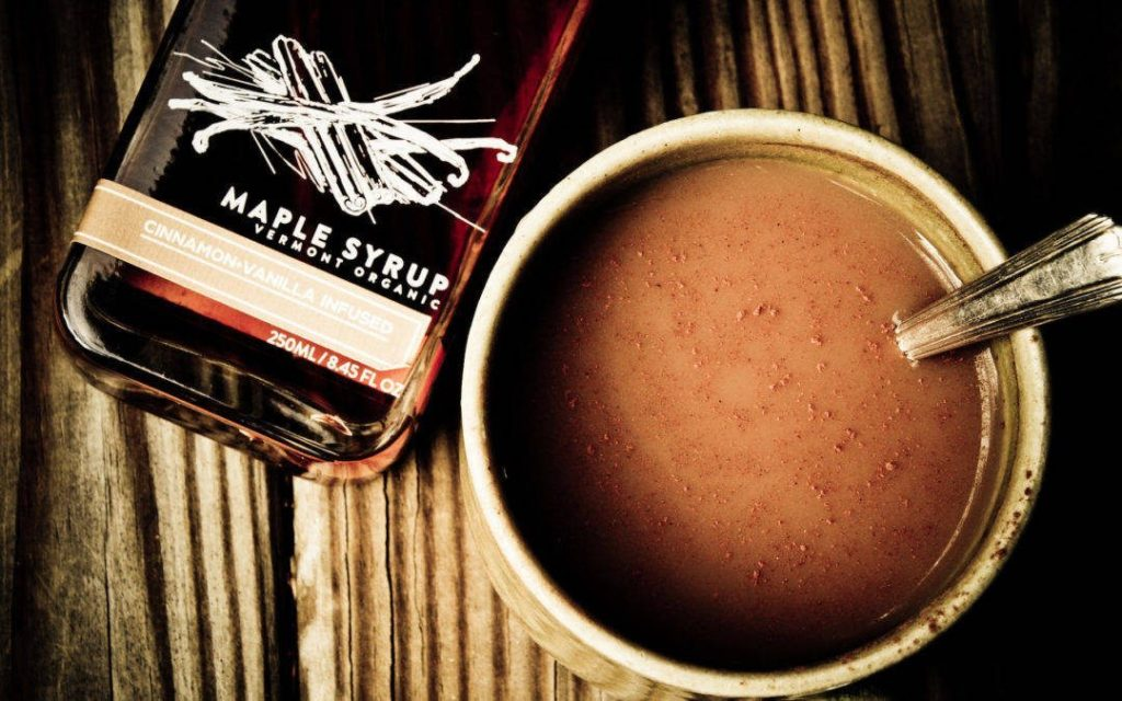 Maple syrup chai tea by Runamok Maple