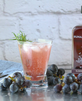 Elderberry Maple Mocktail by Runamok Maple