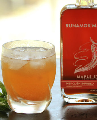 Spicy maple cocktail by Runamok Maple