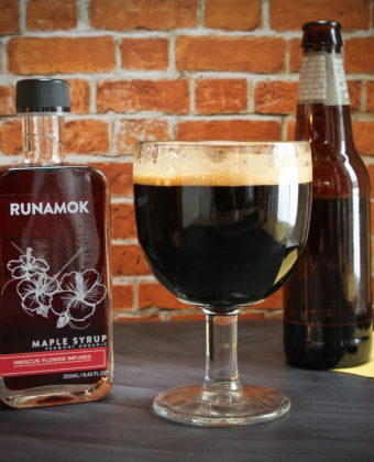 Maple beer cocktails by Runamok Maple