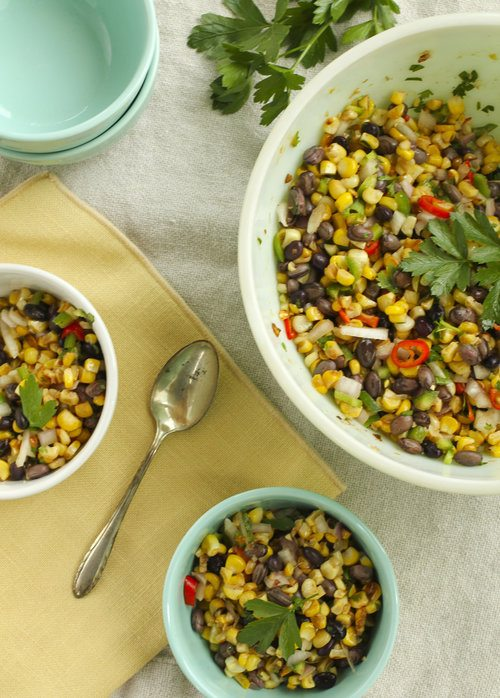 Corn and Bean Salad by Runamok Maple