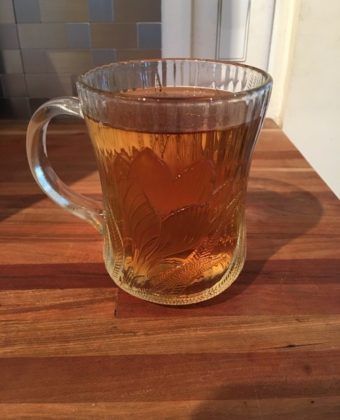 Elderberry Maple hot toddy by Runamok Maple