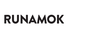 logo runamok text only