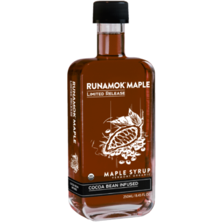 Cocoa Bean Infused Maple Syrup