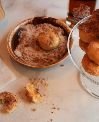 Doffins - doughnut muffin recipe by Runamok Maple