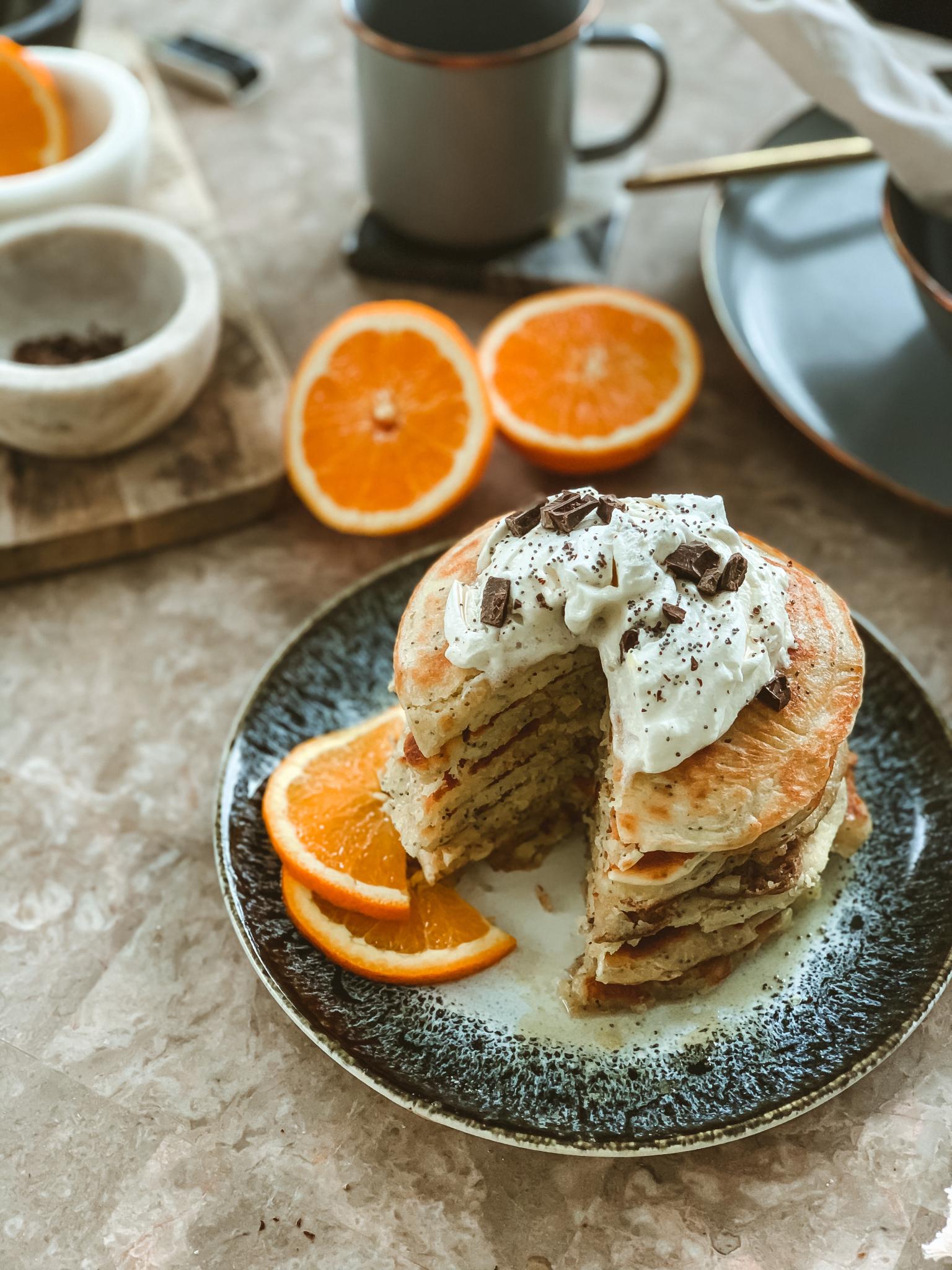 Poppyseed Pancakes by Runamok Maple