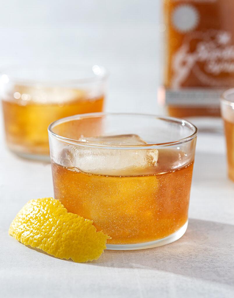 Sparkly Maple Bourbon Splash