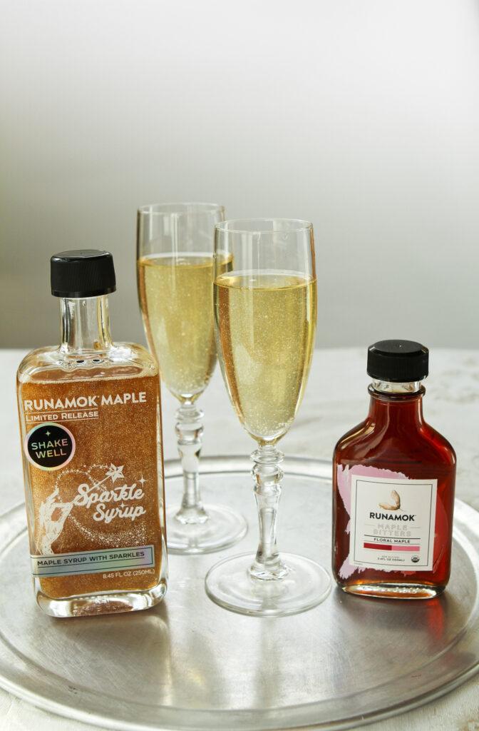 Shimmering Champagne Cocktail