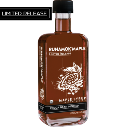 Cocoa Bean Infused Maple Syrup by Runamok Maple