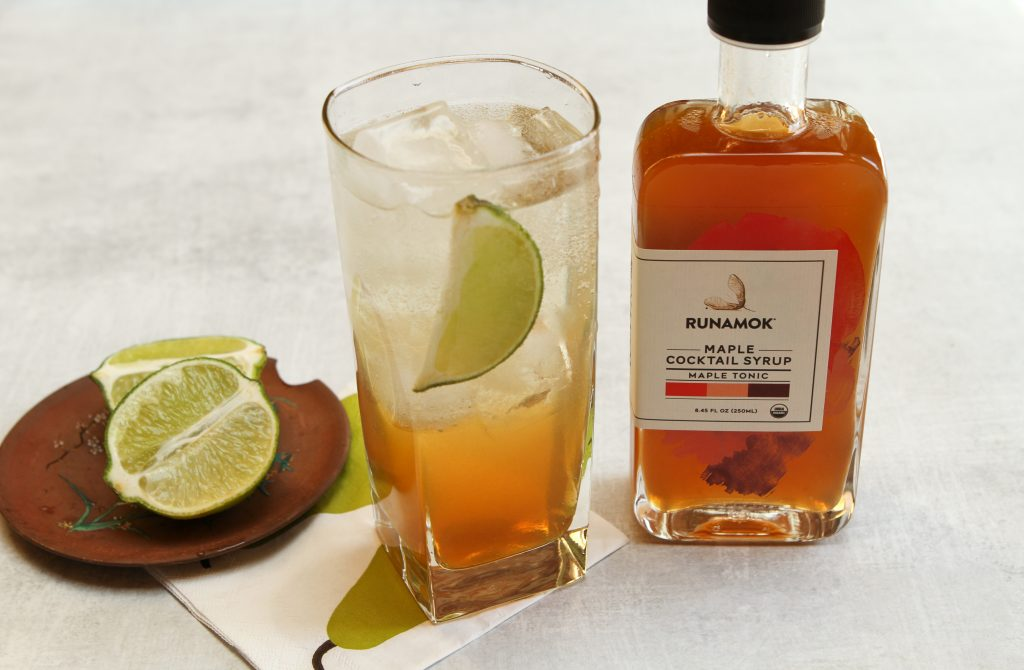 Tequila and tonic by Runamok Maple