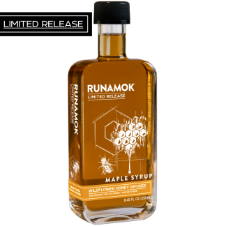 Wildflower Honey Infused Maple Syrup by Runamok Maple