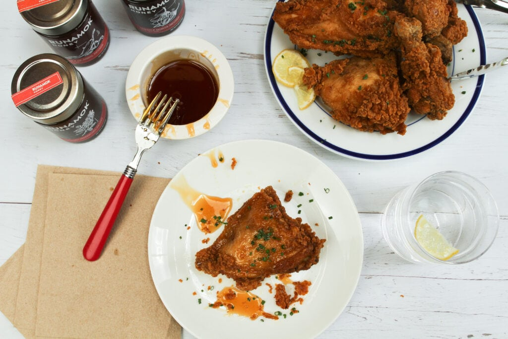 Hot Honey Fried Chicken by Runamok